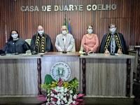 Casa de Duarte Coelho recebe acadêmicos de Cultura e Letras de diversos municípios