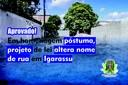 Projeto de lei altera nome de rua em Igarassu em homenagem póstuma