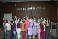 Violência contra a mulher é tema de palestra na Câmara de Igarassu