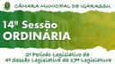 14ª Sessão Ordinária